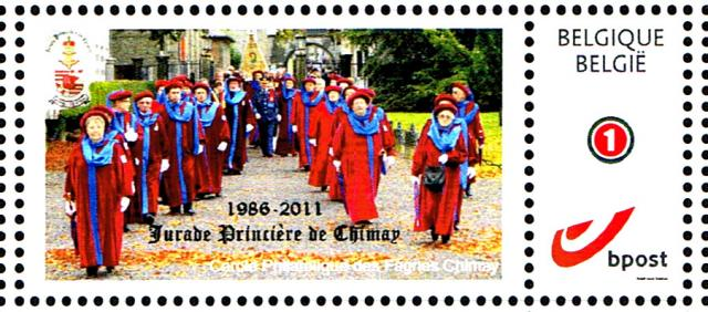 Duostamp 2012 Jurade de Chimay