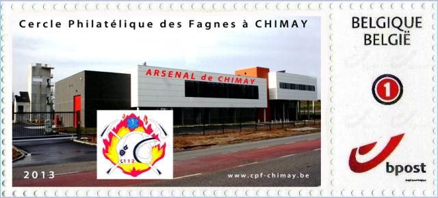 Duostamp 2013 arsenal de Chimay